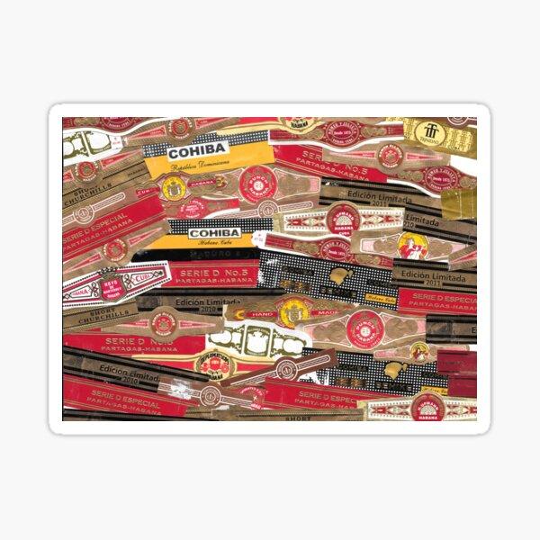 Cigar Bands Sticker
