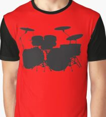 Drums (request other colours) Graphic T-Shirt