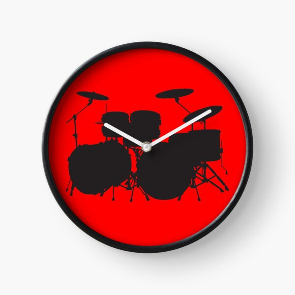 Drums (request other colours) Clock