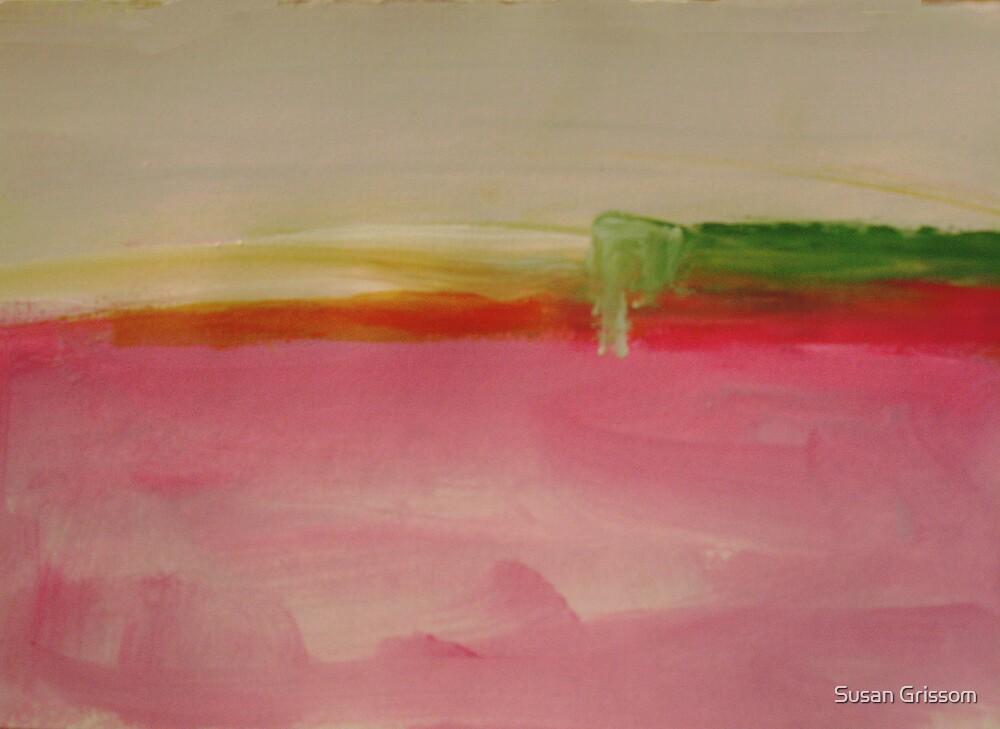 Pink Landscape  by Susan Grissom