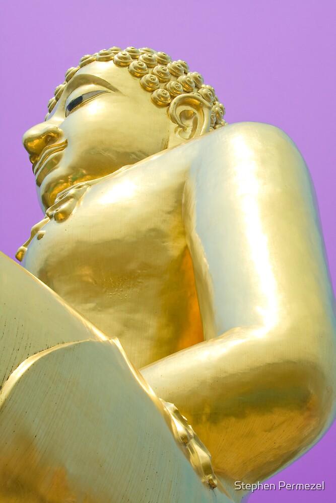 Golden Deity - The Golden Triangle, Thailand by Stephen Permezel