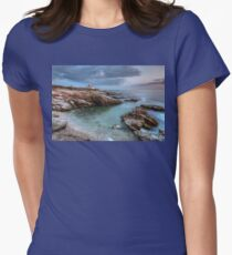 Beavertail Lighthouse at Sunset T-Shirt