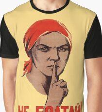 Soviet Treason Poster Graphic T-Shirt