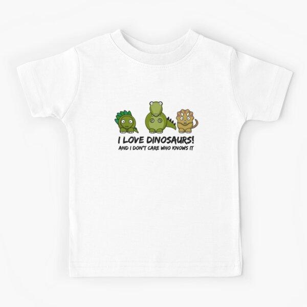 I Love Dinosaurs Kids T-Shirt