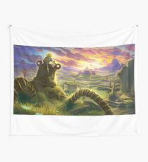 Zelda Breath of the Wild Wall Tapestry