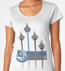 MOBIUS SQUADRON (Ace Combat 04: Shatterd Skies)  Women's Premium T-Shirt