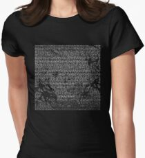 a moon shaped lyric T-Shirt
