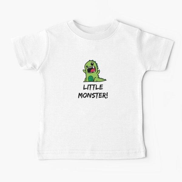 Little Monster Dinosaur! Baby T-Shirt