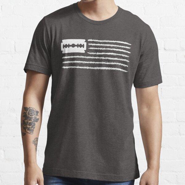 American Flag Cocaine Ver1 Essential T-Shirt