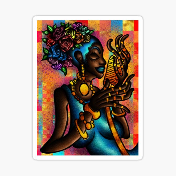 The Soul Singer (Gold Series) Sticker