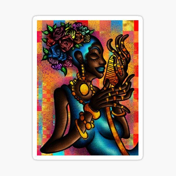 The Soul Singer (Gold Series) Pegatina