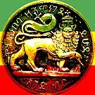 Jah Rastafari Ancient Lion of Judah Design by rastaseed