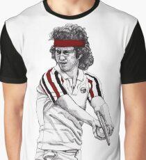 Tennis Mcenroe Grafik T-Shirt