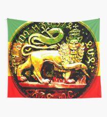 Jah Rastafari Alter Löwe von Judah Design Wandbehang