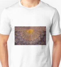 Ceiling, Amur Timur Mausoleum, Samarkand T-Shirt