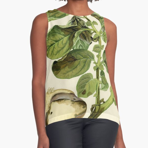 Late Blight of Potato Sleeveless Top