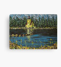 The Yellow Lighthouse Canvas Print