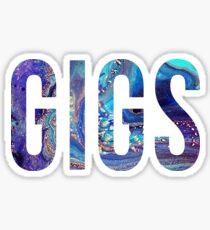 GIGS Sticker