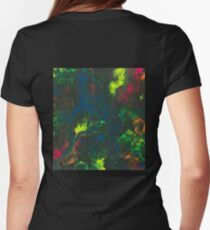 Blacklight Flow - Acrylic Painting Art T-Shirt