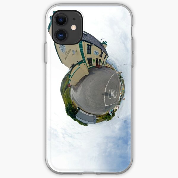 Biddy's House - the Crossroads Pub, Glencolmcille(Sky Out) iPhone Soft Case