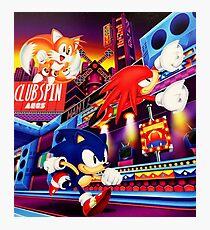 Sonic Mania Photographic Print