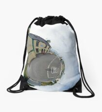 Biddy's House - the Crossroads Pub, Glencolmcille(Sky Out) Drawstring Bag