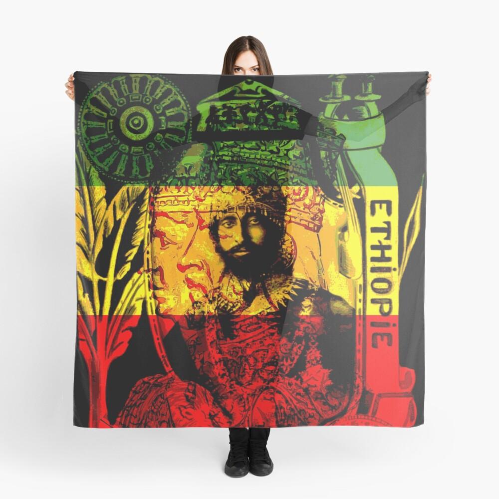 Rasta Haile Selassie Natural Mystic Lion of Judah Scarf