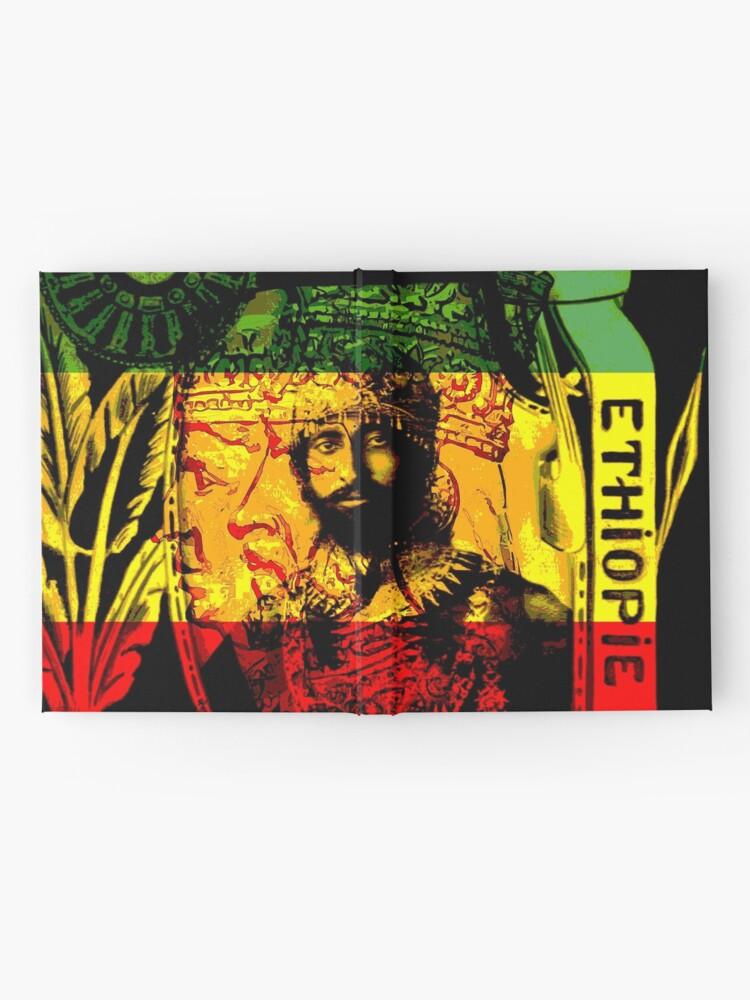Alternate view of Rasta Haile Selassie Natural Mystic Lion of Judah Hardcover Journal