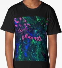 """""""flow""""- Inverted Psychedelic Flow Long T-Shirt"""