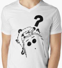 Furry Men's V-Neck T-Shirt