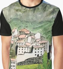 Sunny Tuscan Holiday Graphic T-Shirt