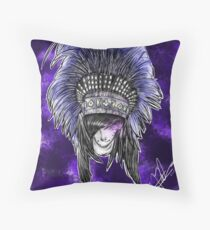 Social Repose Throw Pillow