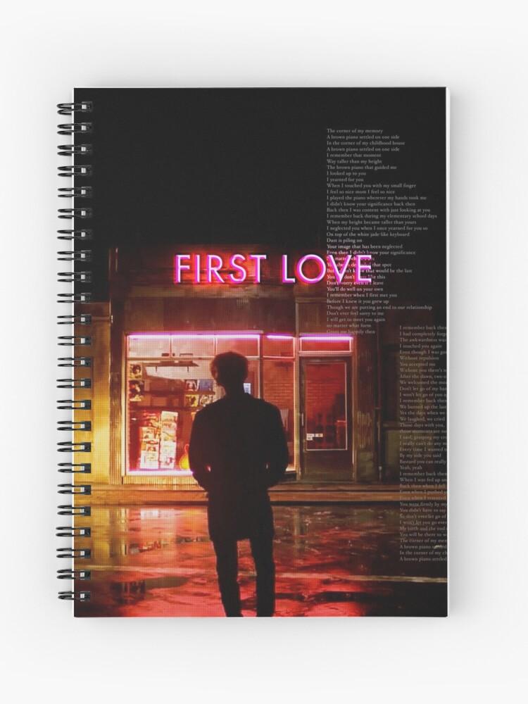 Cuaderno De Espiral Bts Suga Primer Amor De Hanasaud Redbubble