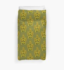 Dotted Yellow Loostrife, Muckross Head, Donegal Duvet Cover