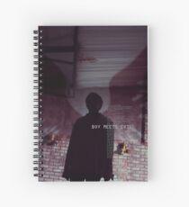 Cuaderno de espiral bts - jhope boy se encuentra con el mal