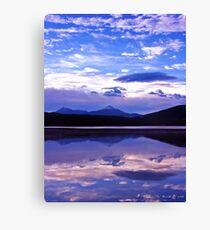 Sunrise on Lake Dillon Canvas Print