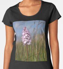 Spotted Orchid,  Portnoo, Co. Donegal Women's Premium T-Shirt