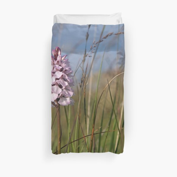 Spotted Orchid,  Portnoo, Co. Donegal Duvet Cover