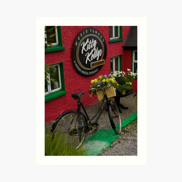 Kitty Kelly's restaurant, Donegal - tall Art Print