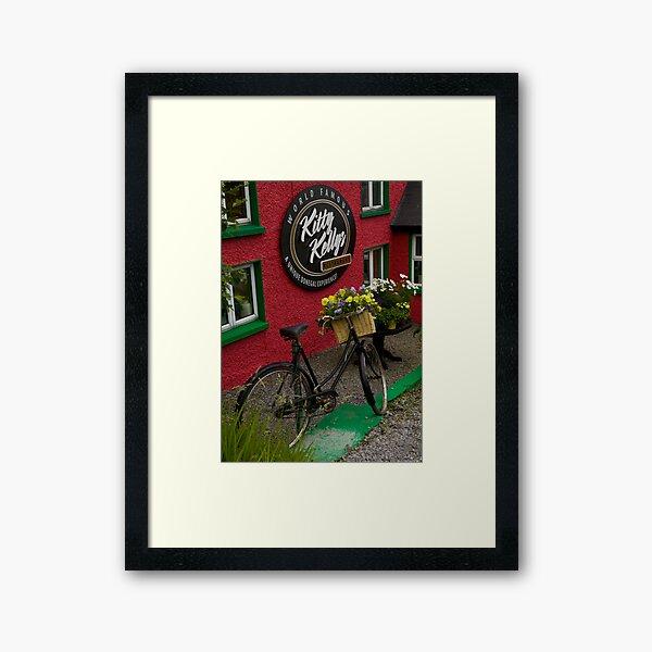 Kitty Kelly's restaurant, Donegal - tall Framed Art Print