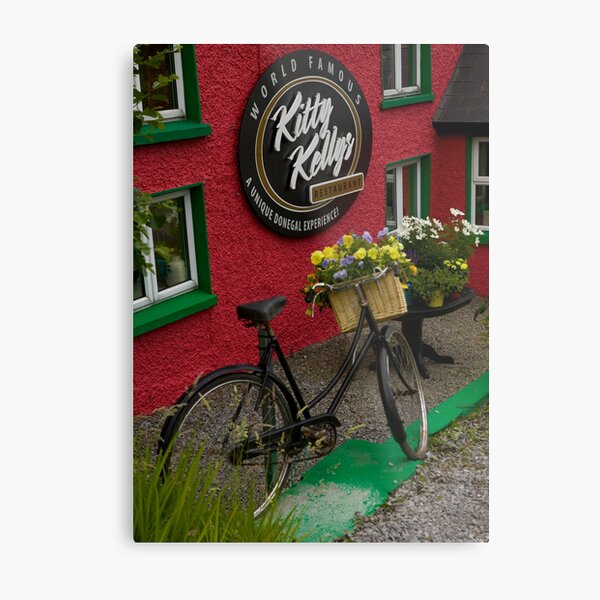 Kitty Kelly's restaurant, Donegal - tall Metal Print