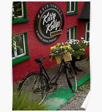 Kitty Kelly's restaurant, Donegal - tall Poster