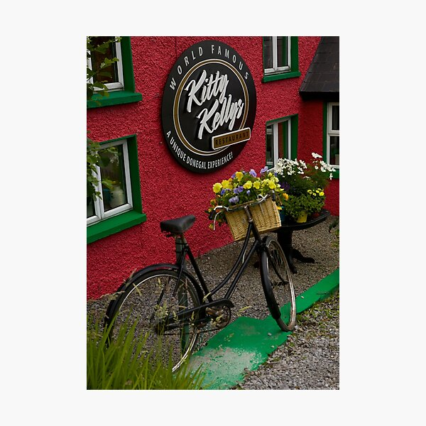 Kitty Kelly's restaurant, Donegal - tall Photographic Print