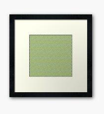 Ducky Tie Pattern Framed Print