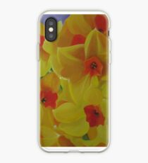 Spring Fever Year-Round, Narcissus iPhone Case