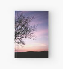 Two Trees embracing Hardcover Journal