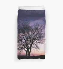 Two Trees embracing Duvet Cover