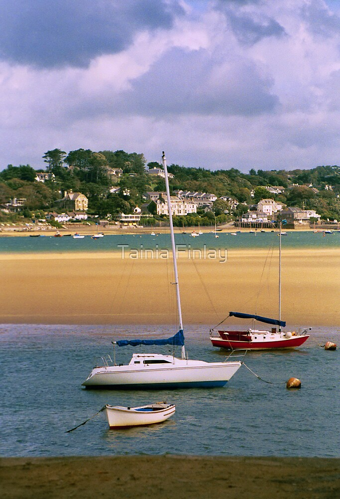 Padstow Estuary by Tainia Finlay
