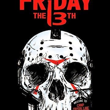 Friday the 13th-skull by Karapuz