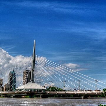 """Sals on the Bridge""..Winnipeg, Canada. by umpa1"